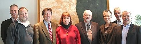 Das Gründungsteam der SolarInvest, 31.03.2011