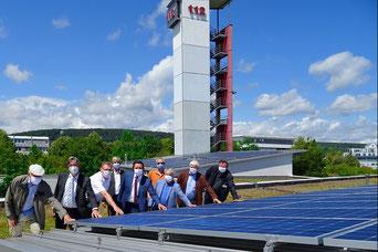 Feuerwache in Hofheim mit neuer Photovoltaik-Anlage